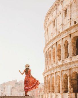 Рим през март